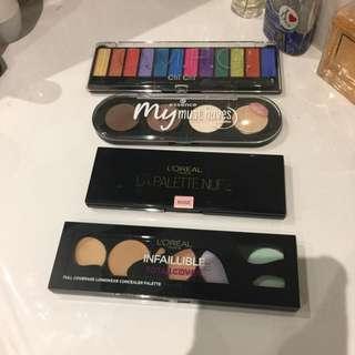 Various Palettes