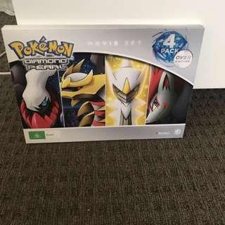 Pokemon DVD pack