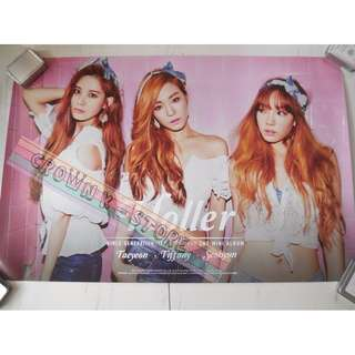 [READY STOCK]GIRLS GENERATION SNSD TAETISEO KOREA OFFICIAL POSTER 1PC SHIP USING TUBE (PRICE NOT INCLUDE POSTAGE)(PLEASE READ DETAILS FOR MORE INFO)