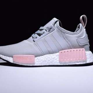 NMD R1 Grey/Light Pink