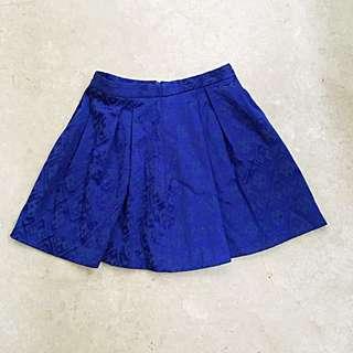 Forever new blue skirt rok motif