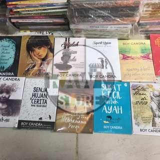Promo 10 Paket Novel BOY CANDRA