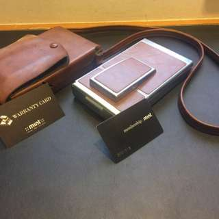 Polaroid sx-70拍立得相機 含原廠皮套與濾光片
