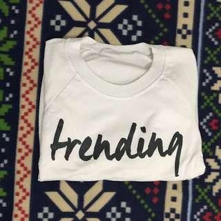 Trending Cropped Sweatshirt
