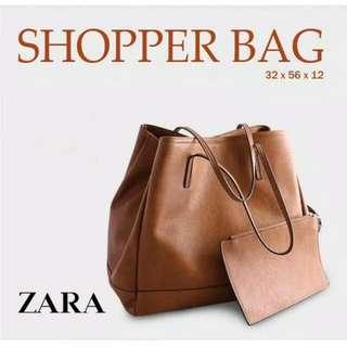 [REPRICE] ZARA SHOPPER BAG
