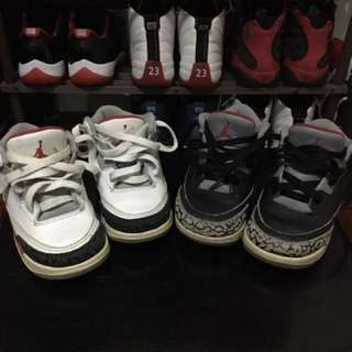Nike Air Jordan 3 pack US7C