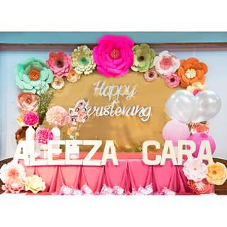 Birthday, Wedding event Decoration