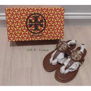 TORY BURCH 真皮涼鞋 OUTLET