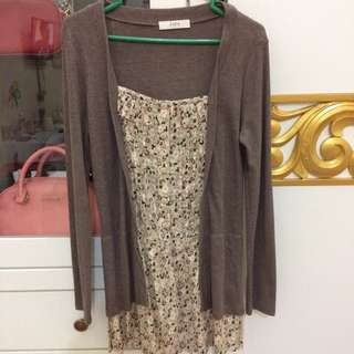 Iora longsleeve mini dress