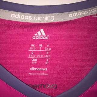Adidas sports shirt and shorts