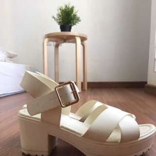 Off White Rubi Platform Sandal
