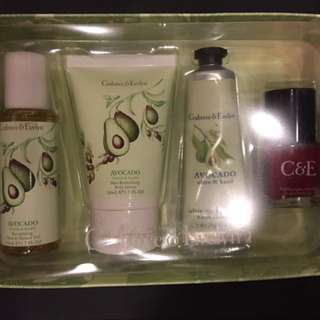 Crabtree & Evelyn Avocado, Olive & Basil Gift Set