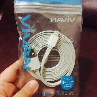 Kabel data Vivan untuk iphone 5/s & 6/s