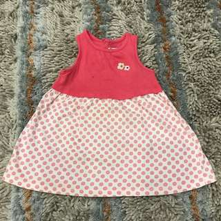 Miki baby cotton dress