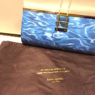 Kate Spade Pool Clutch Bag In Patent Leather