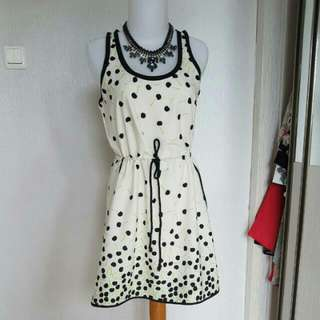 cherry pattern dress