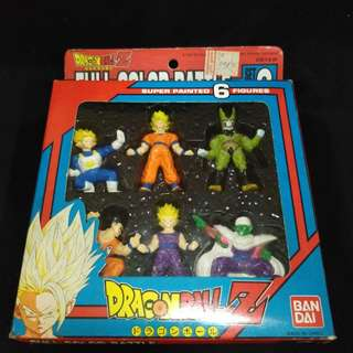 Bandai DRAGONBALL Z Full Color Battle Set 2 Figure Statue Doll Toy Japan Anime