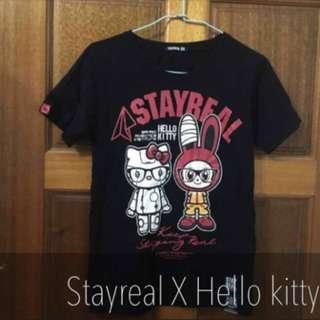 Stayreal Hello Kitty聯名T
