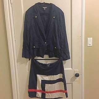 Skirt & Blazer