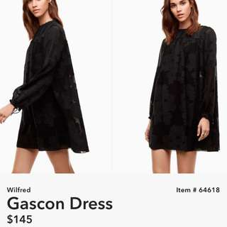 Wilfred Gascon dress- Aritzia
