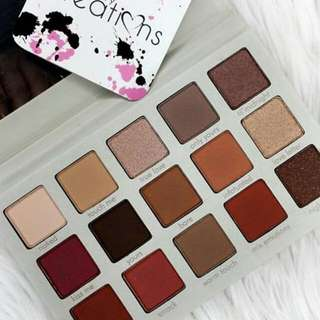 Beauty Creations Eyeshadow Pallete