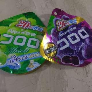 日本水果軟糖uha