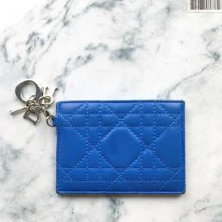 Authentic. Dior Lambskin Cardholder