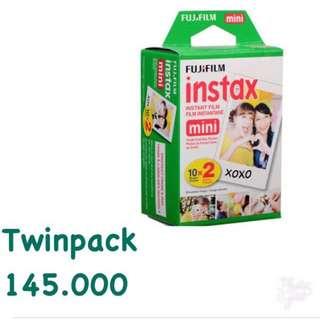 Refill Instax Twinpack Mini Plain