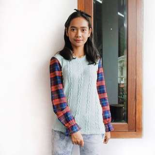 Rajut mix Flannel