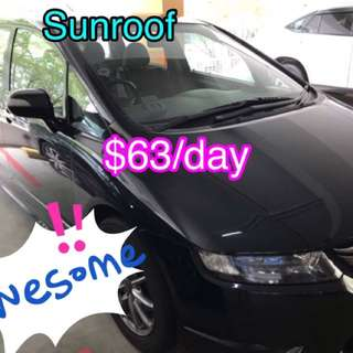 ✅[Uber&Grab] Honda Odyssey 2.4A Sunroof (Message and View now before it's GONE ! )