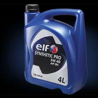 Oil Engine Elf Synthetic Pro 5W40 (4L) Fully Synthetic