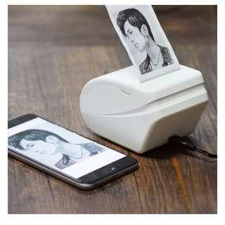 Wireless Bluetooth Pocket Memo Printer