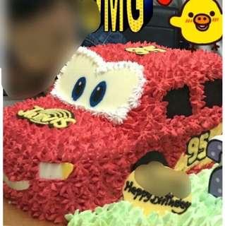 3D反斗車王蛋糕