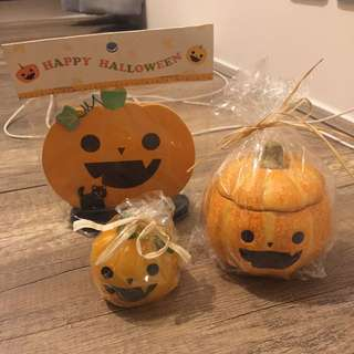 Halloween可愛小擺設(一套三件)