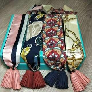 🚚 韓版流蘇項鏈領巾