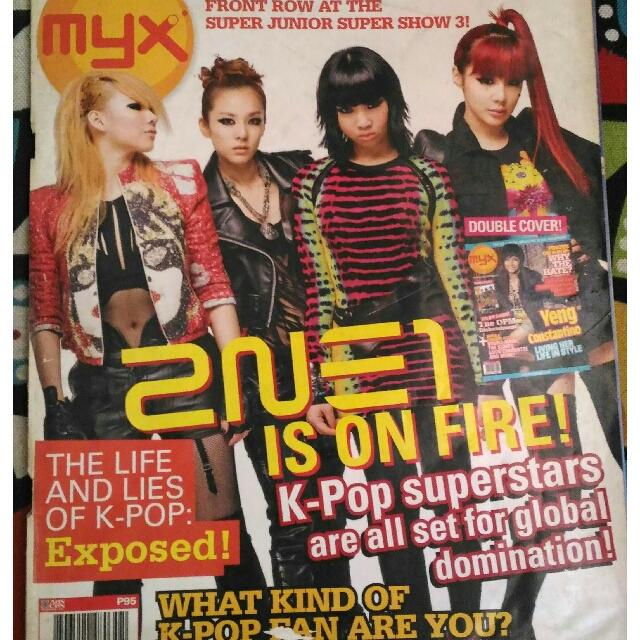 2NE1 (MYX Magazine)