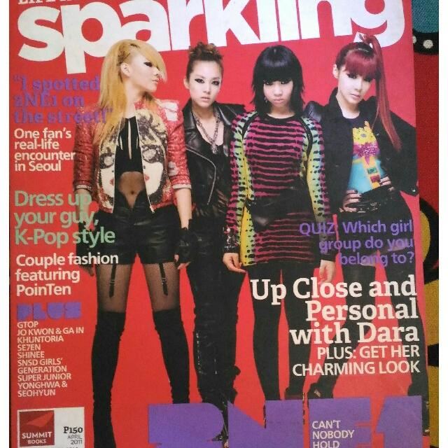 2NE1 (Sparkling Magazine 2011)