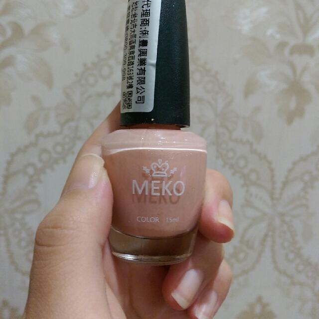 粉膚色指甲油
