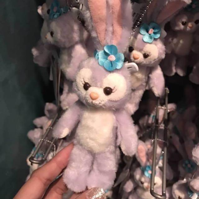日本海洋迪士尼代購兔兔 吊飾 坐 站 娃娃