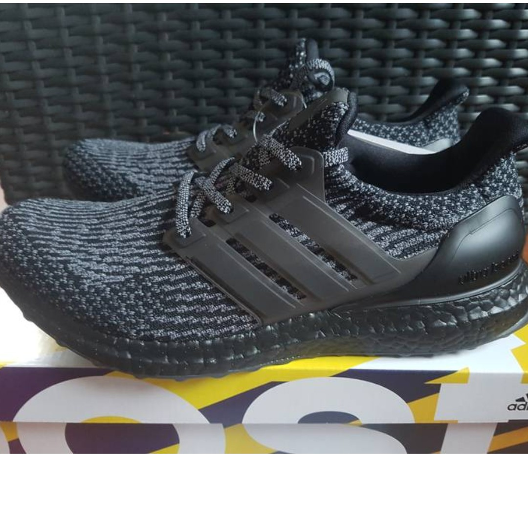 Adidas Ultra Boost 3.0 Triple Black V3 *NEW!*