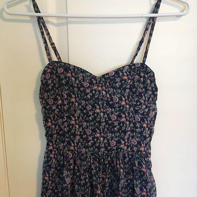A&F Floral Print Dress