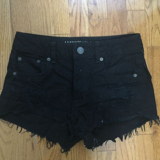 AMERICAN EAGLE FESTIVAL SHORTS HIGH WAISTED