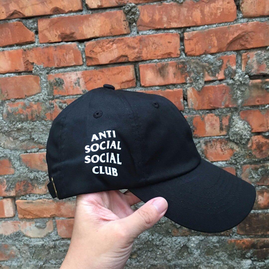 ASSC 鴨舌帽 黑色