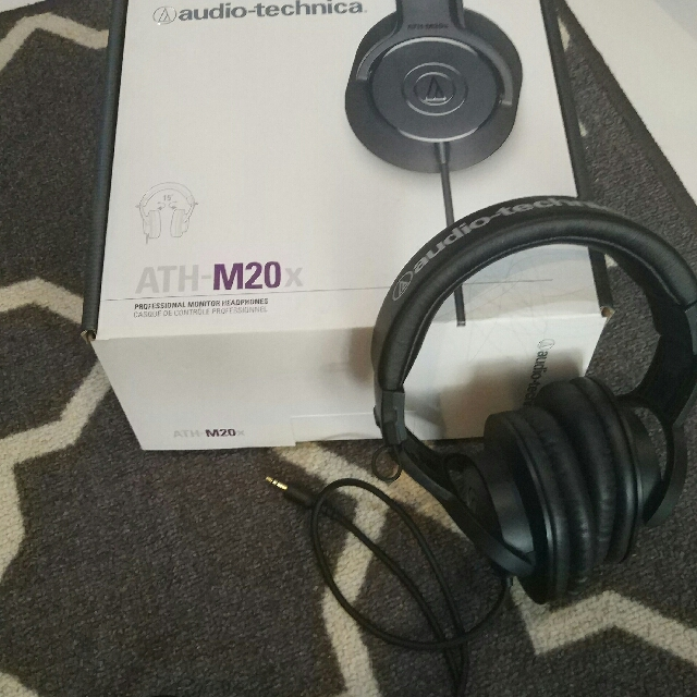 Audio Technica ATH M20X Headphone