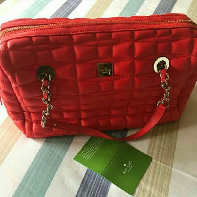 Preloved Authentic Kate Spade Astor Red