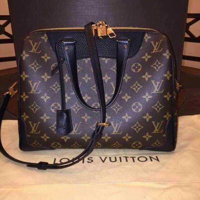 Authentic Louis Vuitton Retiro Noir Monogram