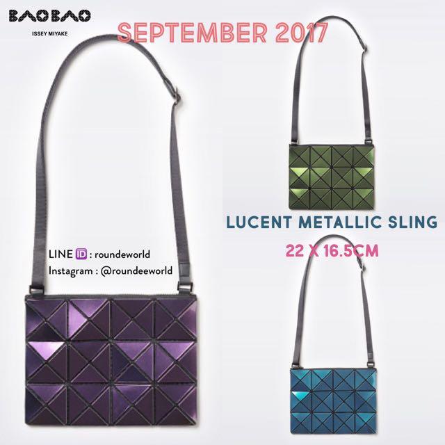 Bao Bao Issey Miyake Lucent Metallic Sling b6f323837b3a3