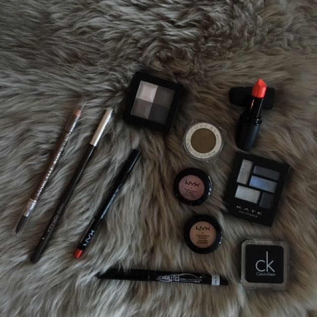 Beauty: NYX, Clio, Kate, CK, Marcelle