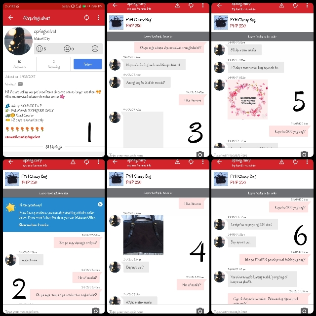BEWARE OF THIS SELLER!!! @SPRING.FAIRY