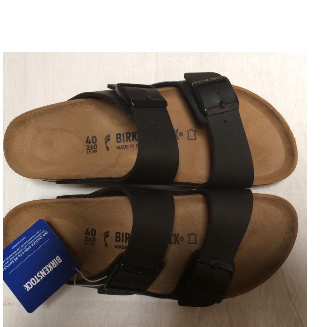 BIRKENSTOCK Arizona - ORIGINAL Size 40 - Black.